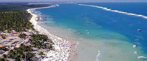Crédito: setur/Alagoas Vista aérea da Praia do Francês